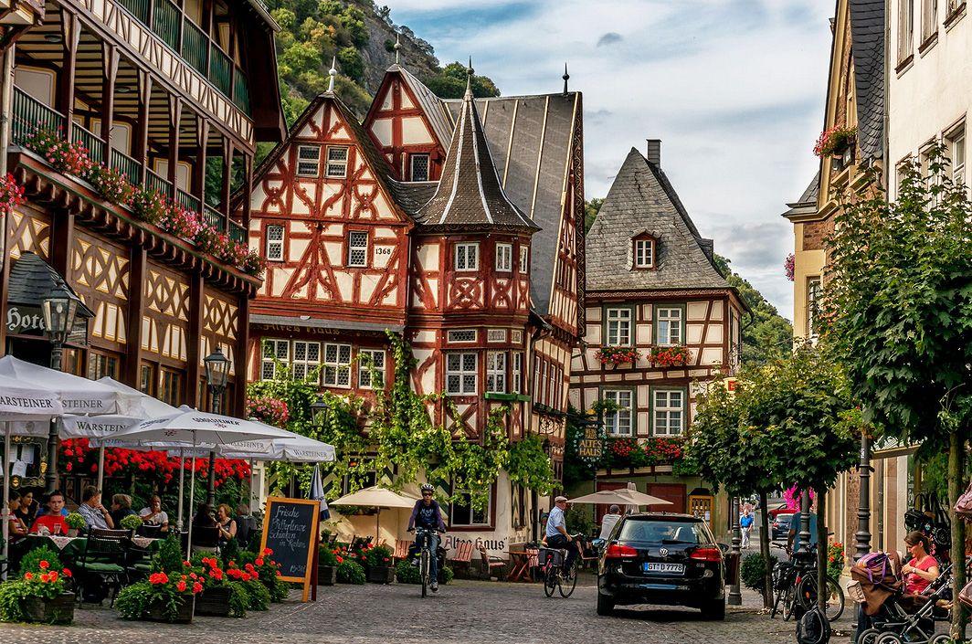 Bacharach (Rheinland-Pfalz)   Bacharach germany, Germany