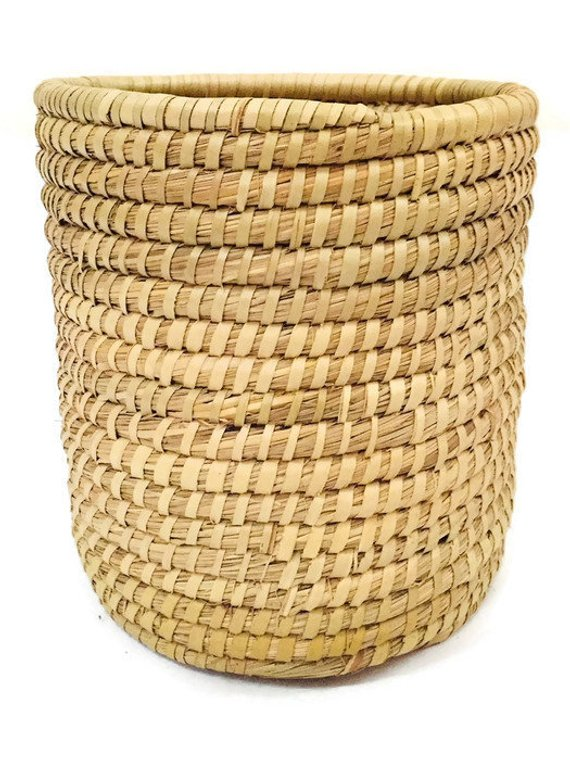 39639b4e311a0a Vintage Gullah Basket Sweetgrass Basket Planter Tall Hand Woven Planter or  Storage Basket Southweste