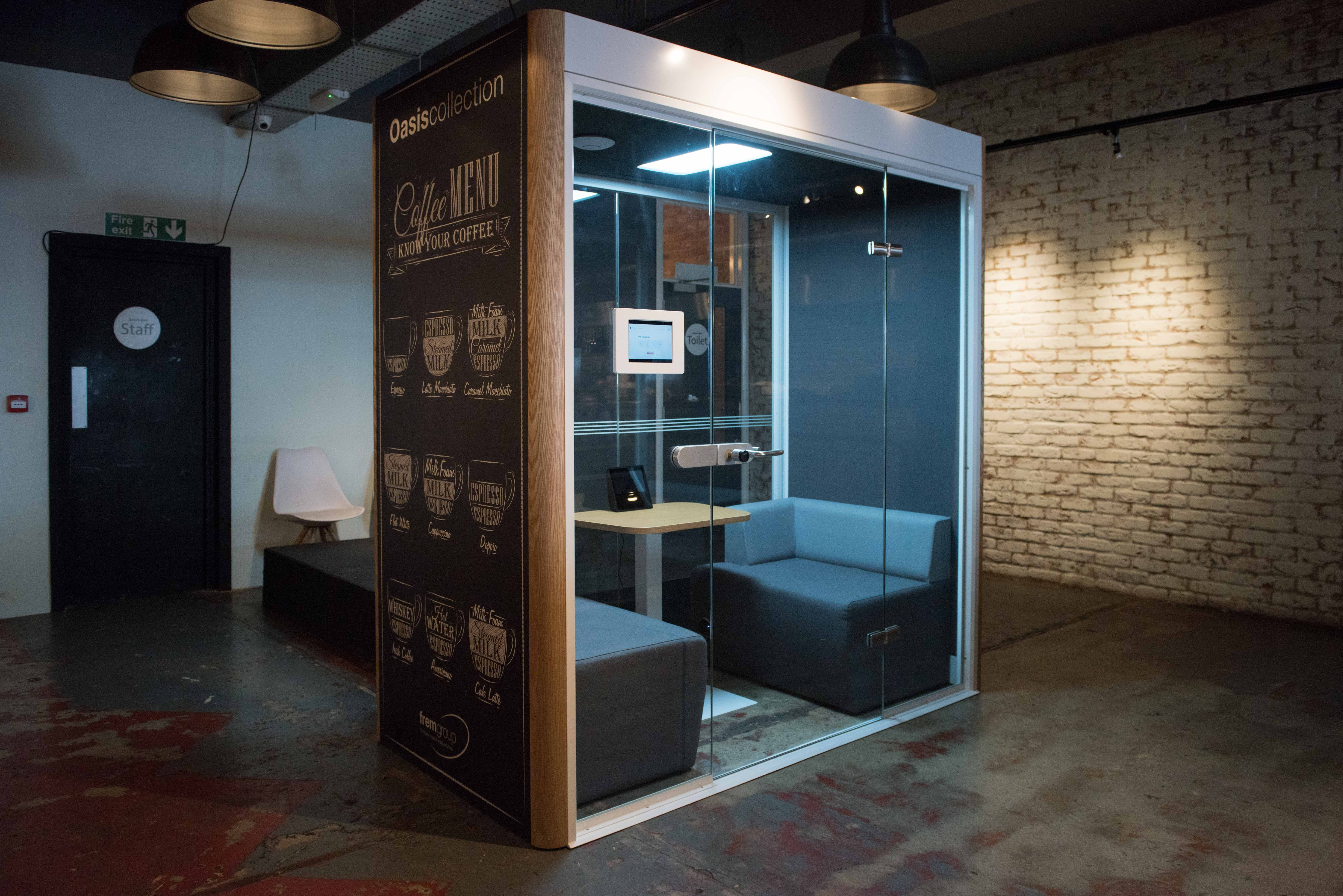 pods office. Oasis Linear Duo Pod | Acoustic Pods Office Furniture