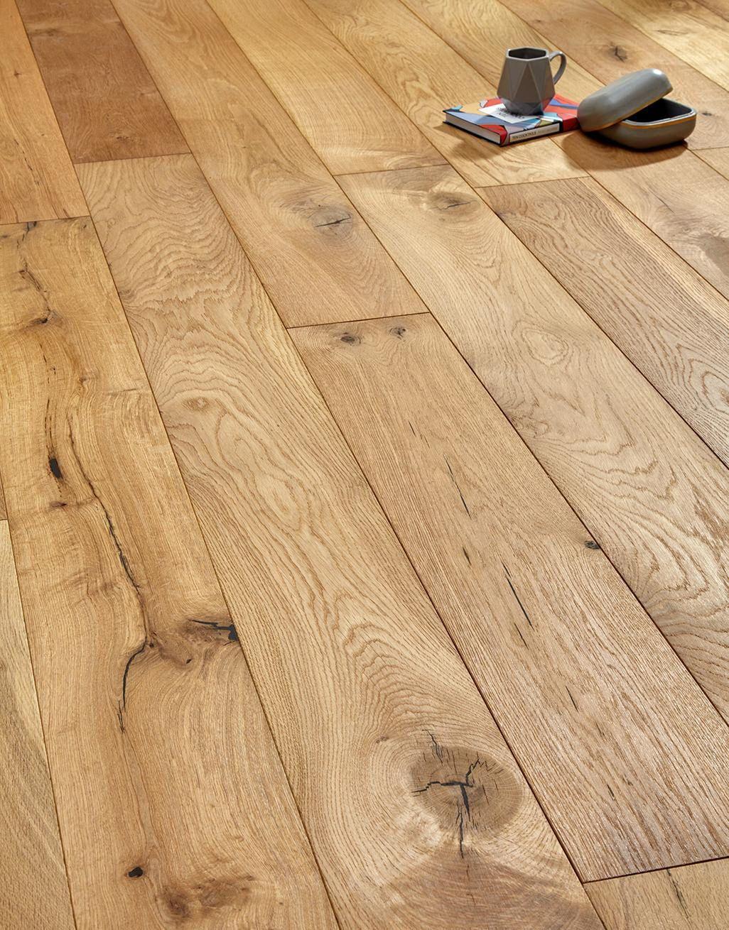 Manhattan Natural Oak Brushed & Oiled Engineered Wood Flooring