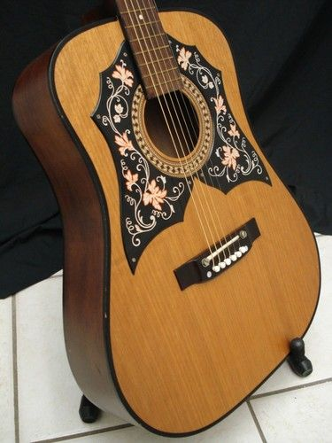 Vintage 1960s 1970s Checkmate Acoustic Guitar Model No G440 Ebay Guitar Acoustic Acoustic Guitar