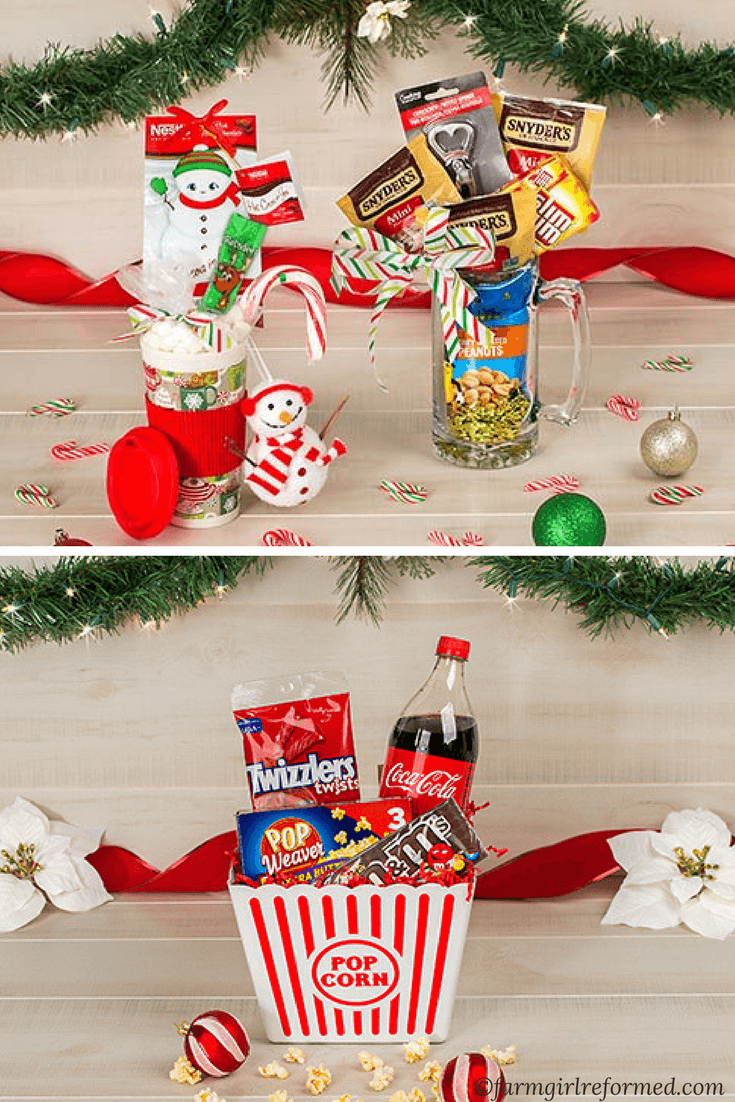 Dollar Tree Gift Basket Guide Farm Girl Reformed Dollar Tree Gifts Christmas Gifts For Couples Tree Gift