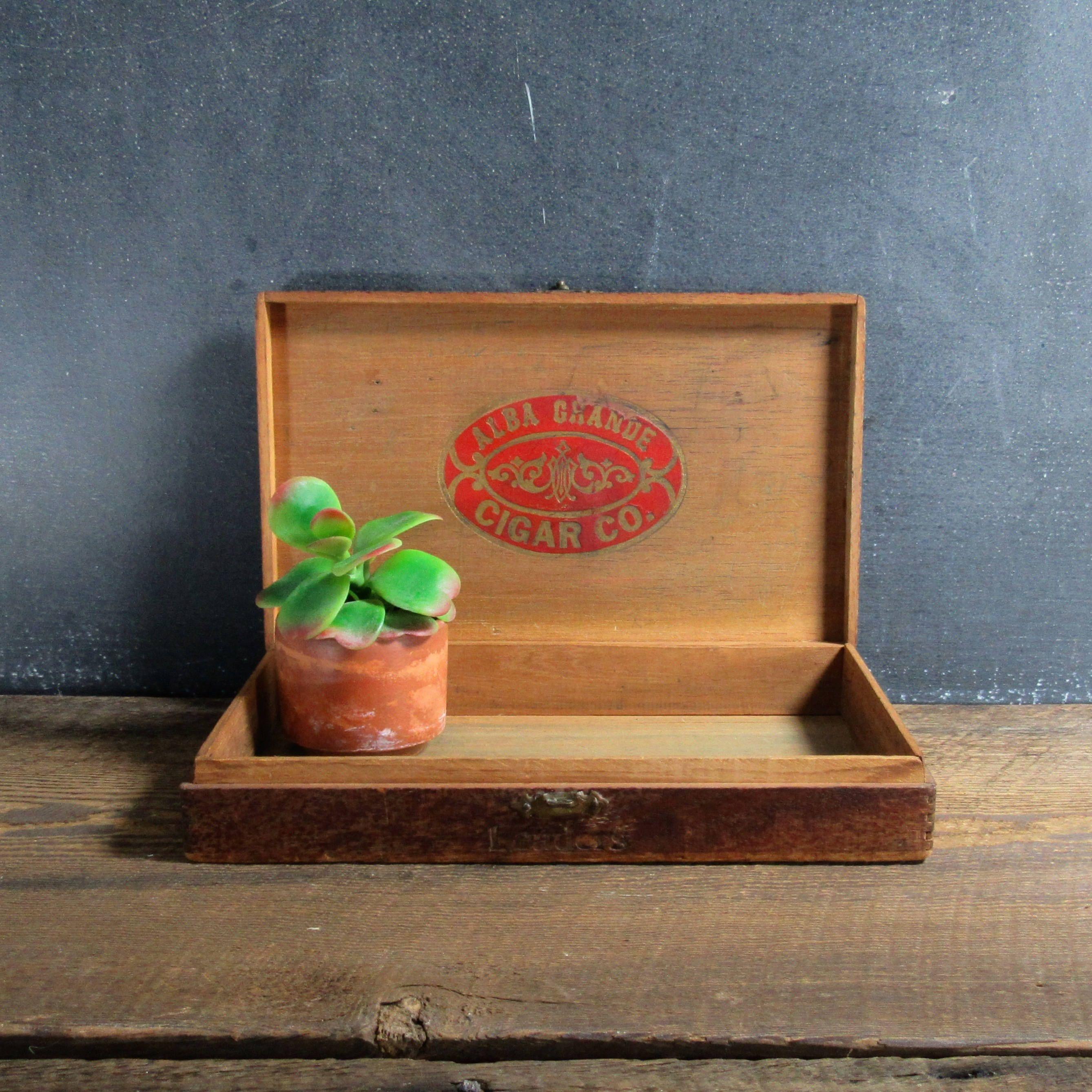 26++ Wooden cigar box crafts ideas
