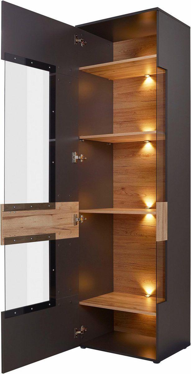 Forte Vitrine Como Hohe 203 Cm Inkl Beleuchtung Online Kaufen Otto In 2020 Vitrine Deckengestaltung Schlafzimmer Beleuchtung