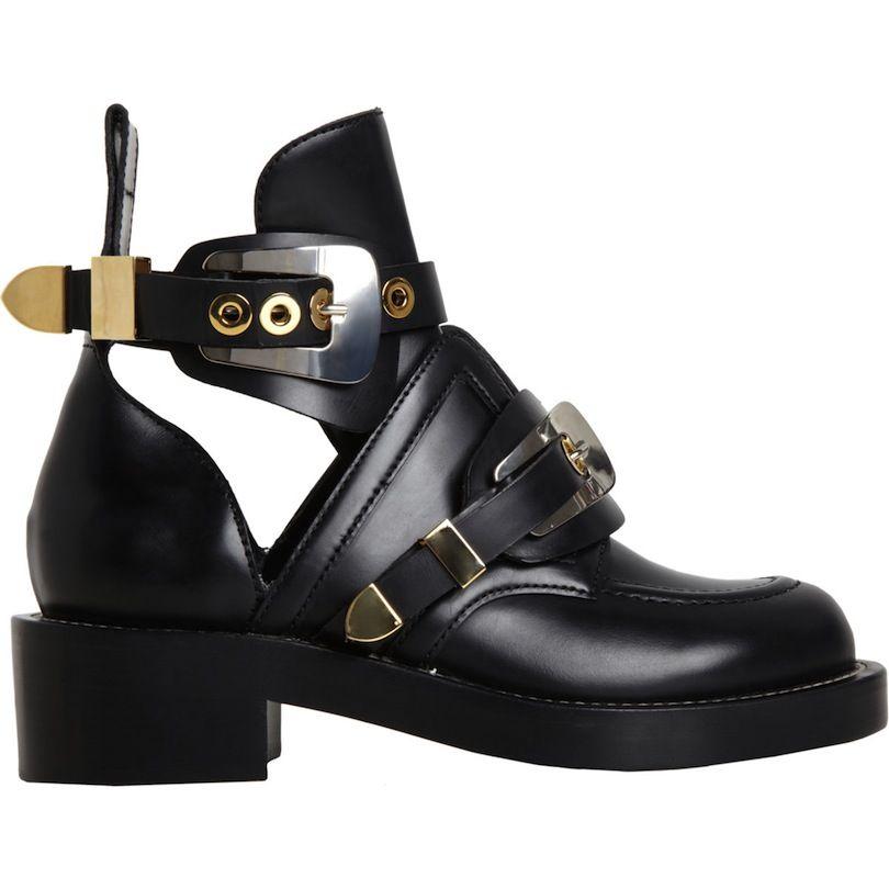 Balenciaga Sepatu Boots Sepatu Bot Wanita Sepatu