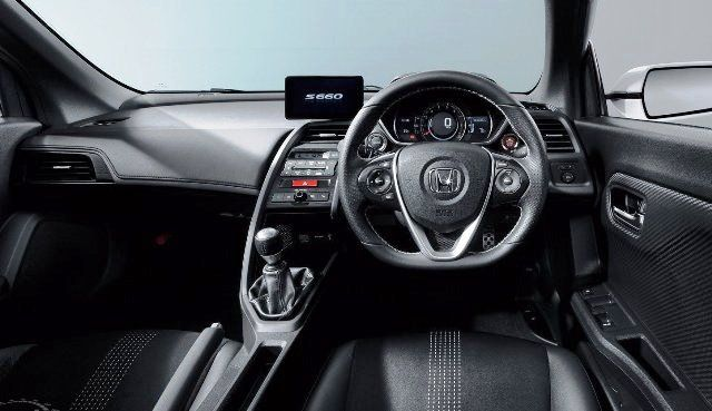 All-New 2015 Honda S660, The 'Heart Beat Sport'-interior