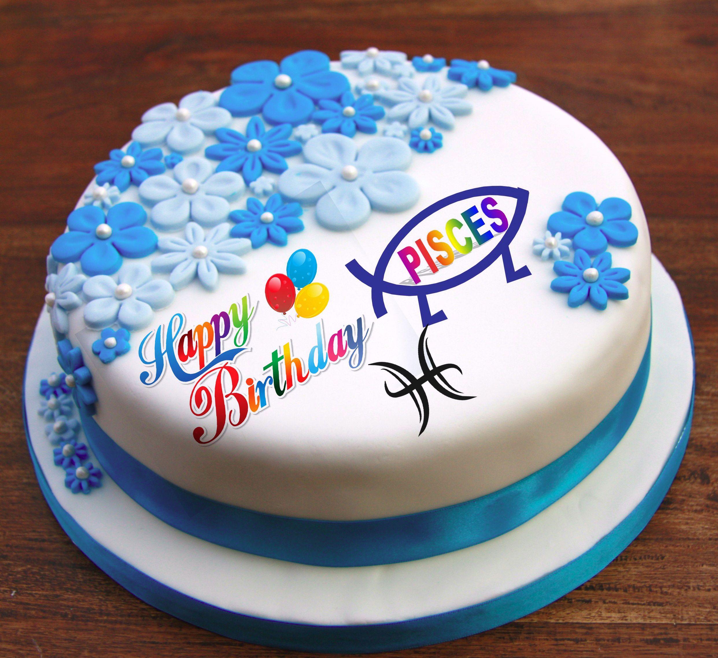 Happy birthday pisces happy birthday cake pictures
