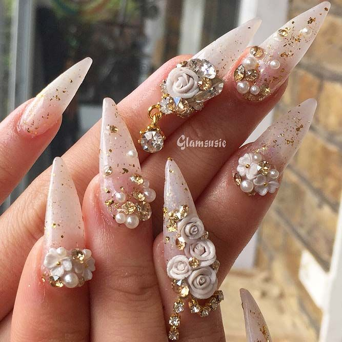 Best Stiletto Nails Designs Ideas And Tips For You Stiletto