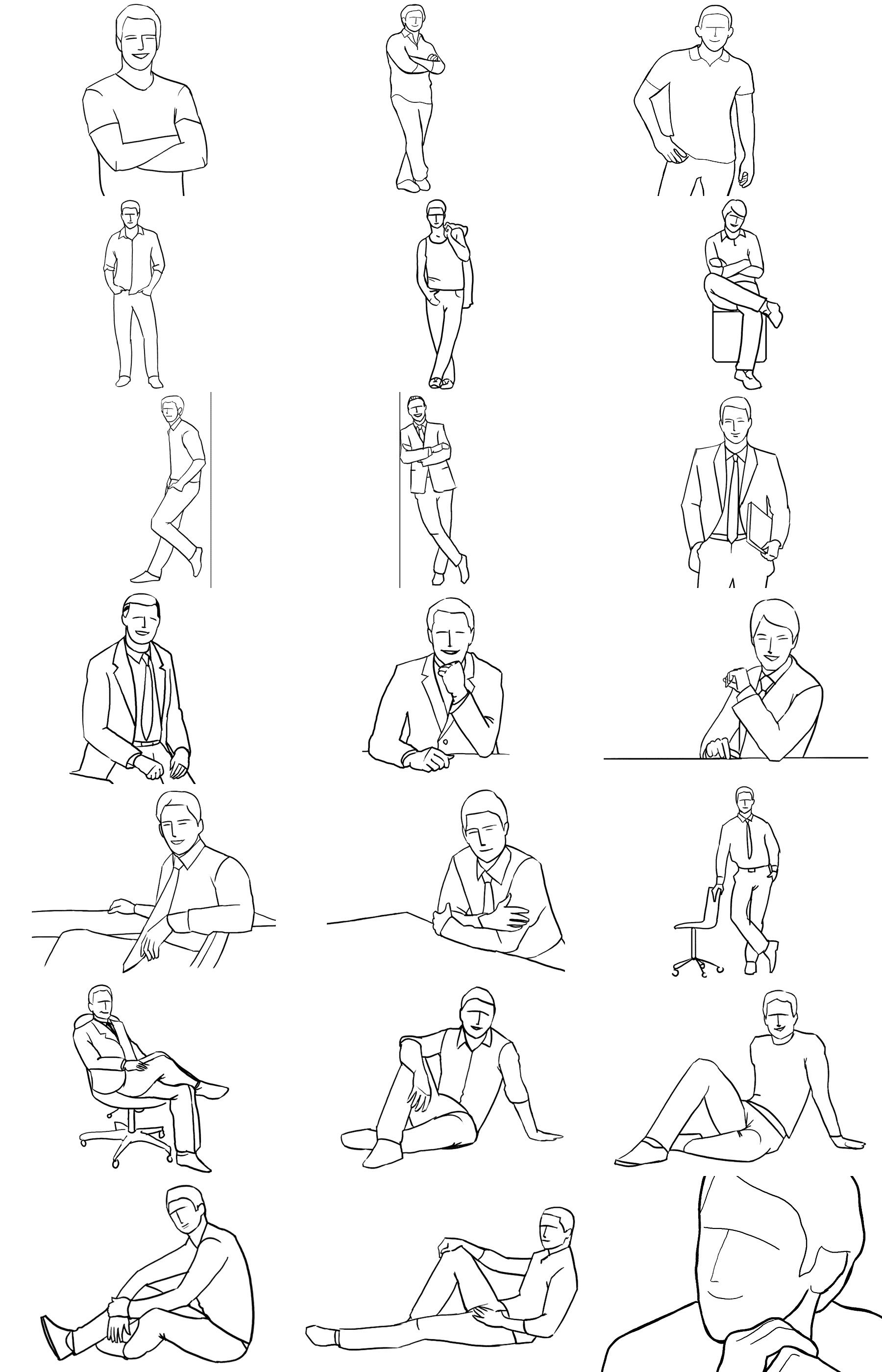 Posing Guide Sample Poses To Get You Started With Photographing Men