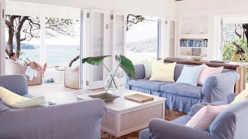 48 Living Rooms with Coastal Style | Coastal living rooms ...