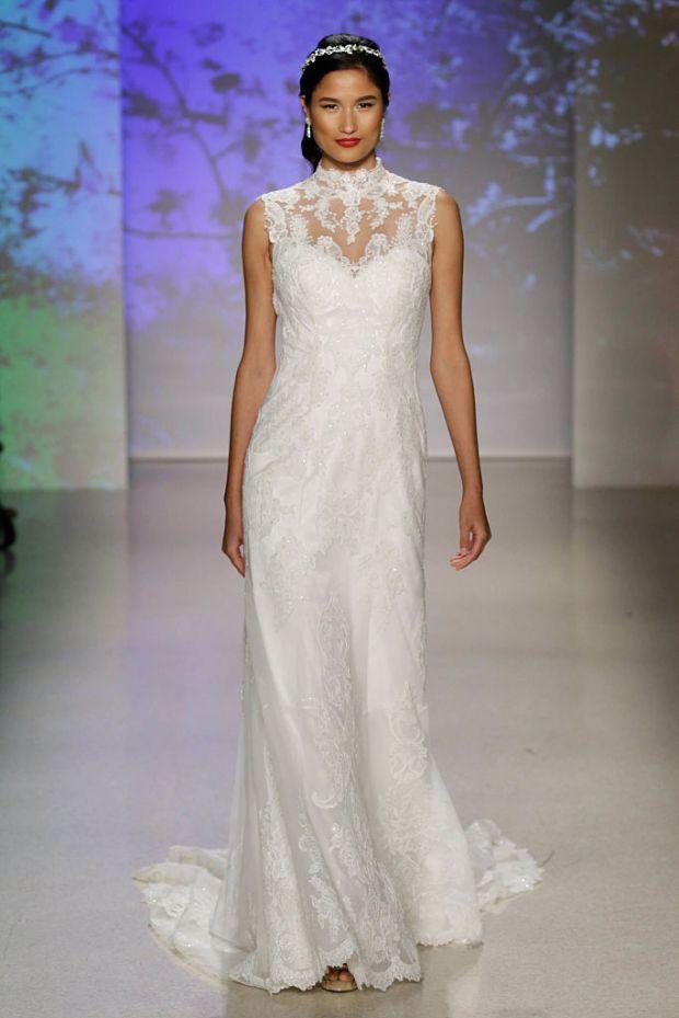 A designer has created wedding dresses inspired by Disney princesses ...
