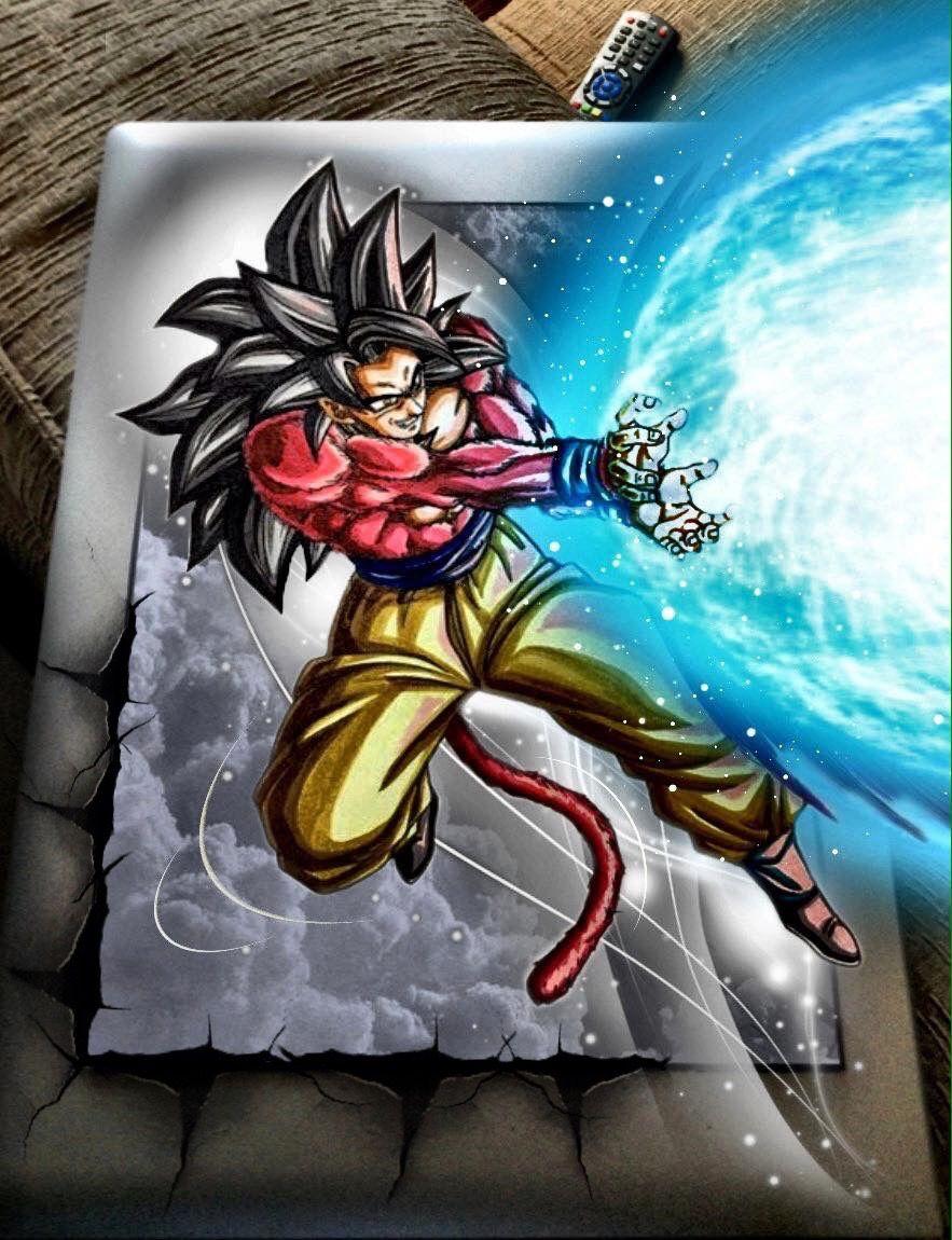 Goku Super Saiyajin Fase 4 Dragon Ball Z Dragon Ball Super Dragon Ball