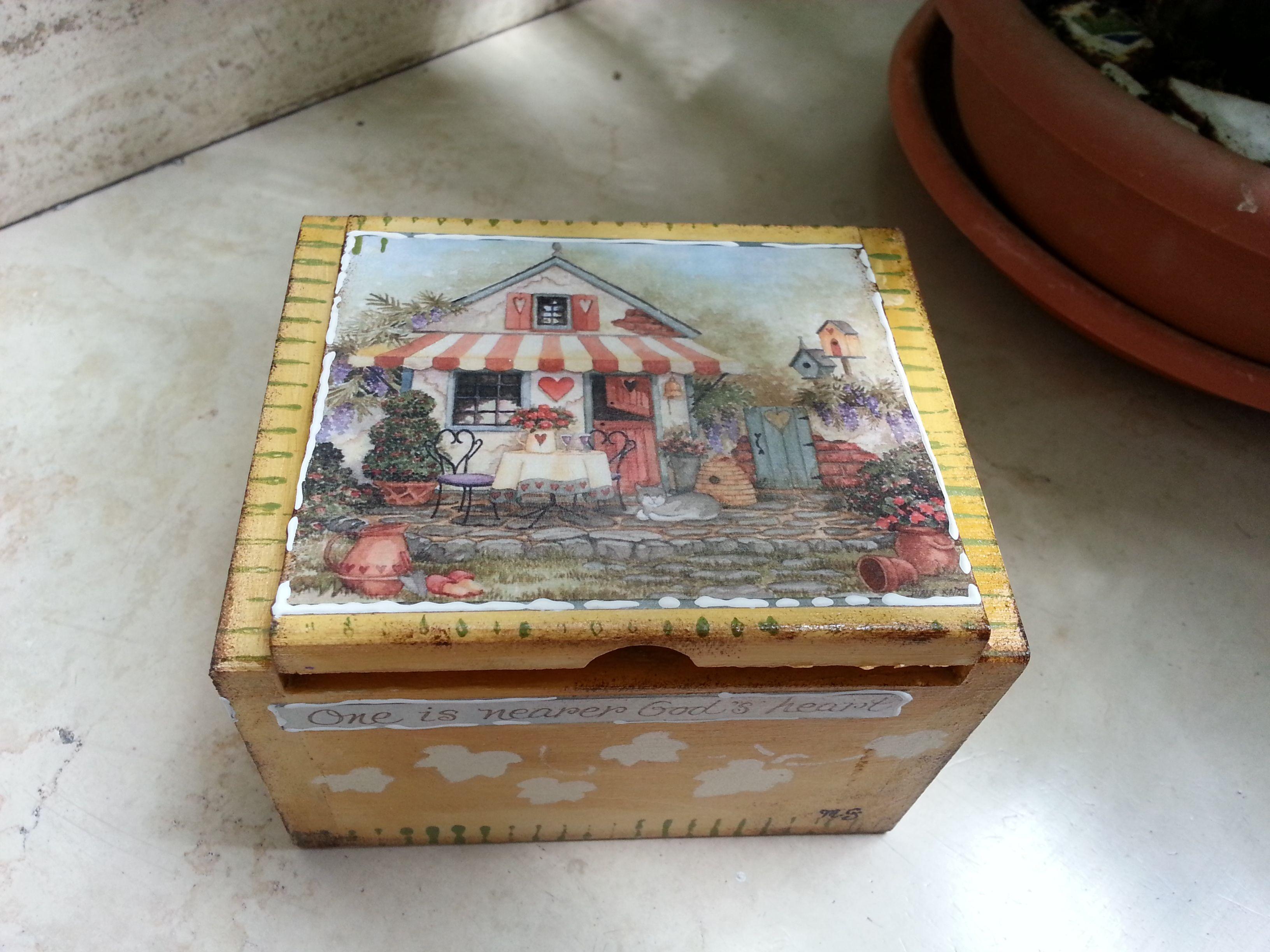 Piccola scatoletta in legno - Mauro Grasso -