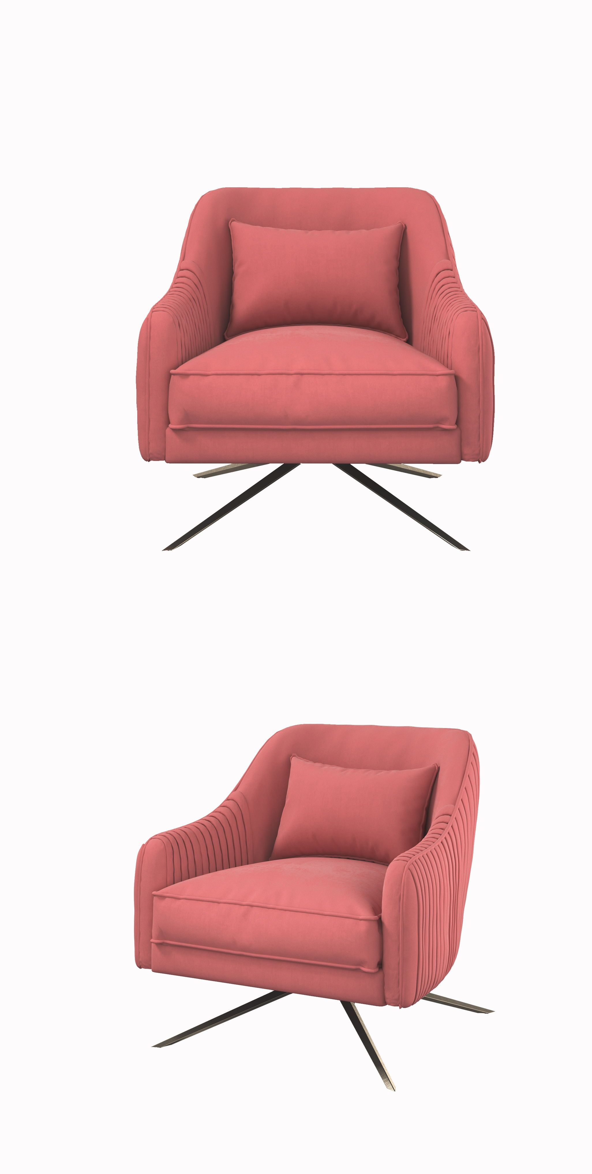 Fabulous Modern Style Sofa Chair Pink Conventional Stainless Steel Ibusinesslaw Wood Chair Design Ideas Ibusinesslaworg