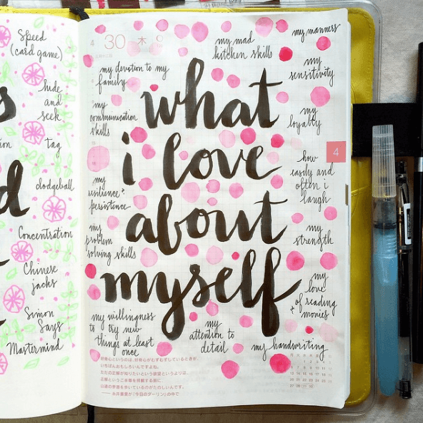 6 inspirierende Bullet Journal Ideen für mehr Selbstfürsorge in deinem Leben. - soulsweet