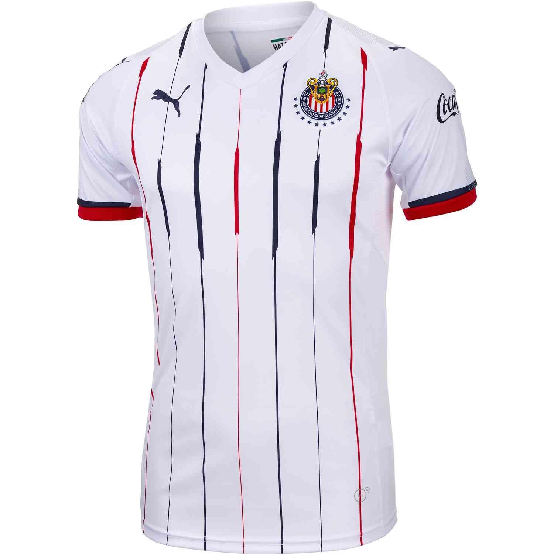 super popular 1521f a396d PUMA Chivas Away Jersey 2018-19 | Soccer Gifts | Soccer ...