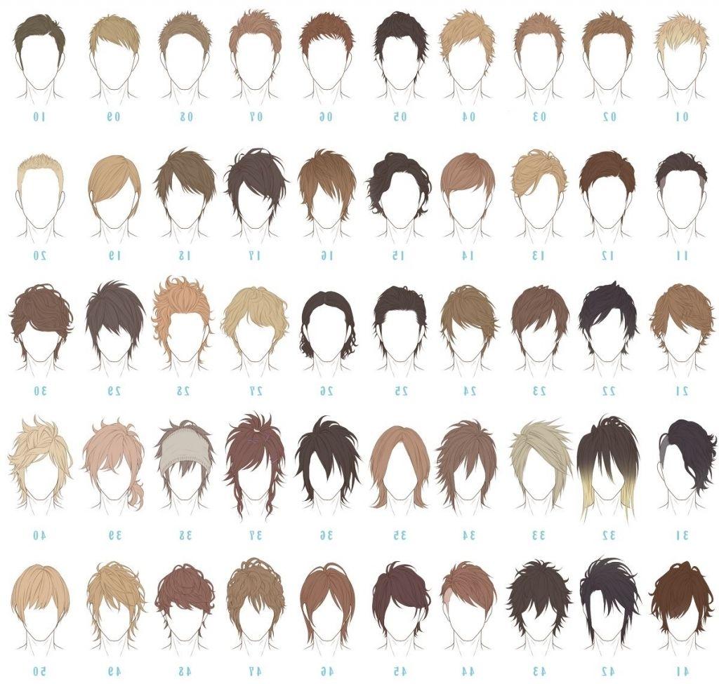 男 髪型 種類 Anime Boy Hair Hair Reference Anime Hairstyles Male