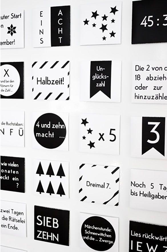Von super simpel bis absurd aufwändig: Die 24 tollsten Adventskalender-Ideen. #calendrierdelaventdiy