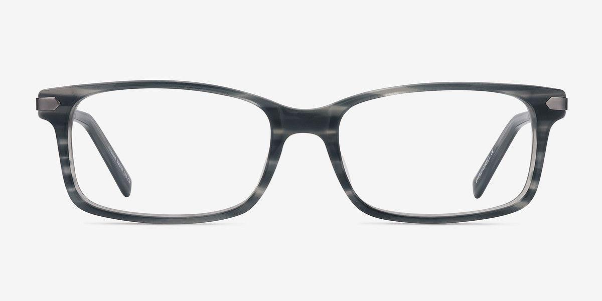 Gray Striped Requiem - Acetate Eyeglasses | Glasses | Pinterest ...