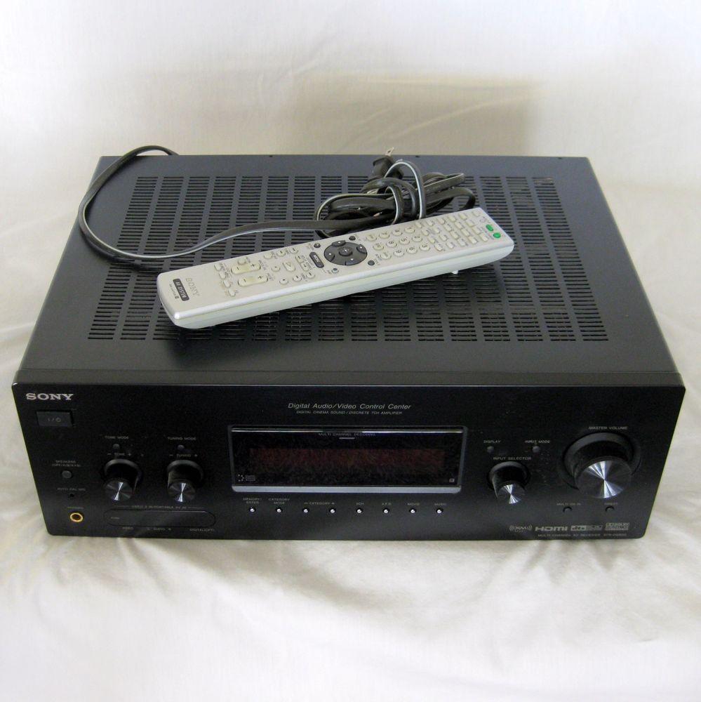 Sony STR-DG800 Digital AV Control Center Receiver w RM-AAP008 Remote bundle #Sony