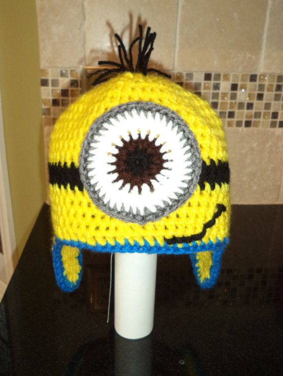 Hey, I found this really awesome Etsy listing at https://www.etsy.com/listing/168602891/childrens-minion-hat