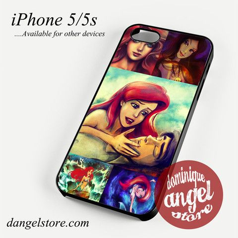 ariel the little mermaid story Phone case for iPhone 4/4s/5/5c/5s/6/6 plus