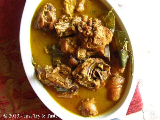 Opor Ayam A La My Mom The Best Ever Opor Ayam Masakan Indonesia Masakan Resep