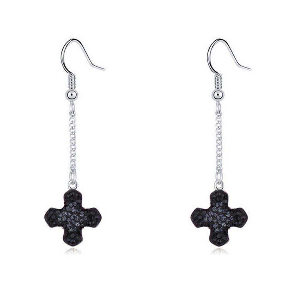 fonk: Long Women Drop Dangle Earrings Crystal Pendant Jewelry Bijoux. Material: Crystal. Metals Type: Platinum Plated. Season : SpringSummer AutumnWinter. Condition: 100% Brand New. Gender: Women.