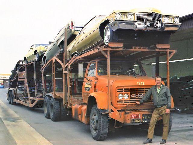 Cci 1548 Gmc 9500 By Pacarhauler Via Flickr Trucks Car Dealership Car Carrier