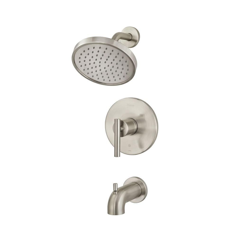 Pfister Contempra Single-Handle Tub and Shower Faucet Trim Kit in ...