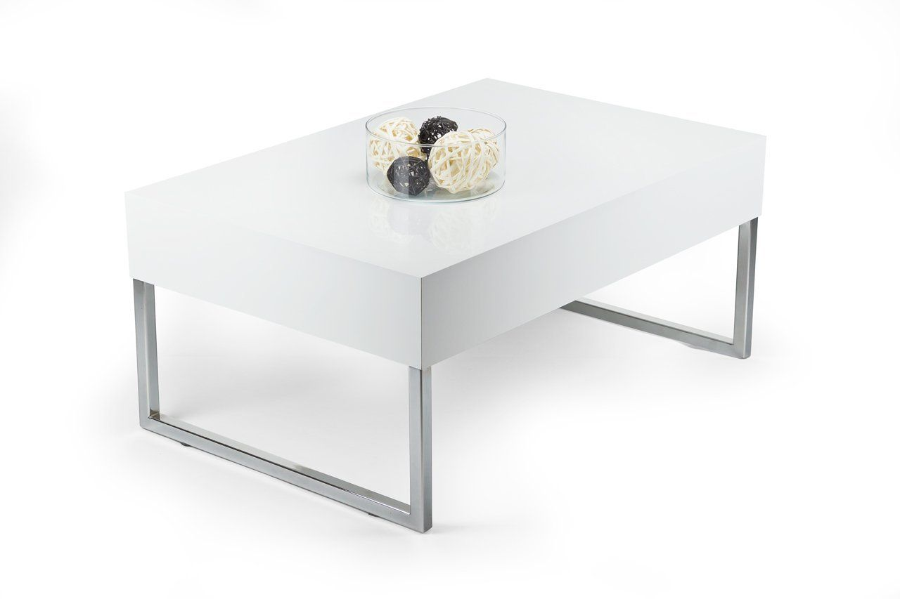 Tisch couchtisch hochglanz wei mod evo xl for Amazon tisch