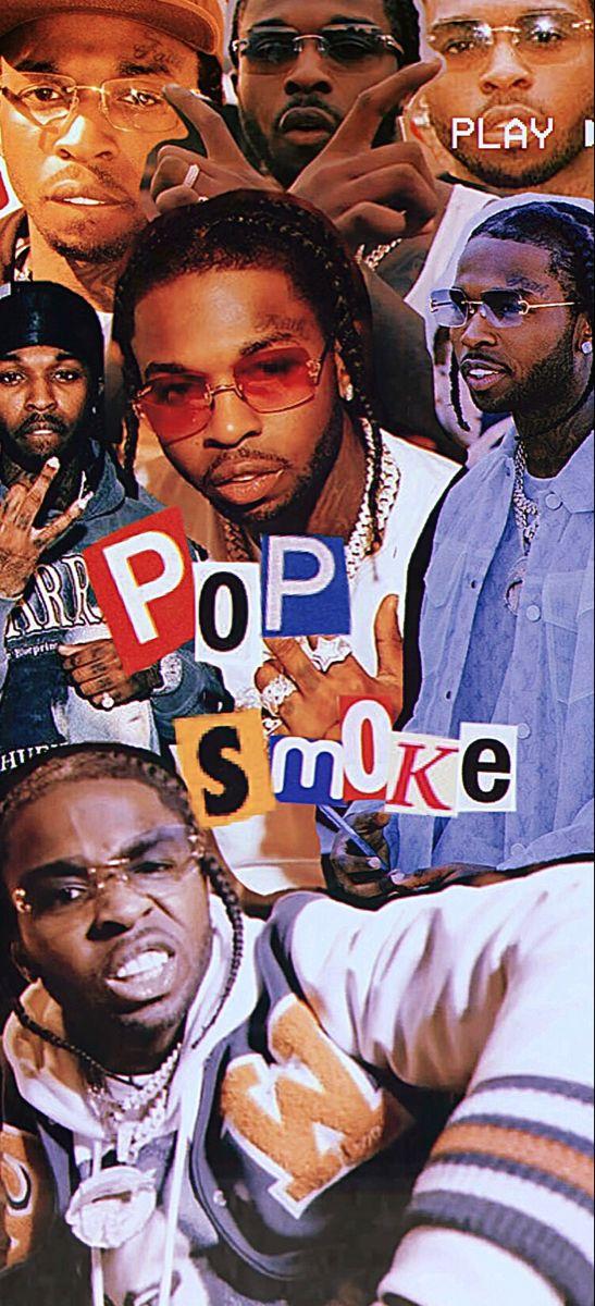 Pop Smoke Wallpaper Smoke Wallpaper Rap Wallpaper Rapper Wallpaper Iphone