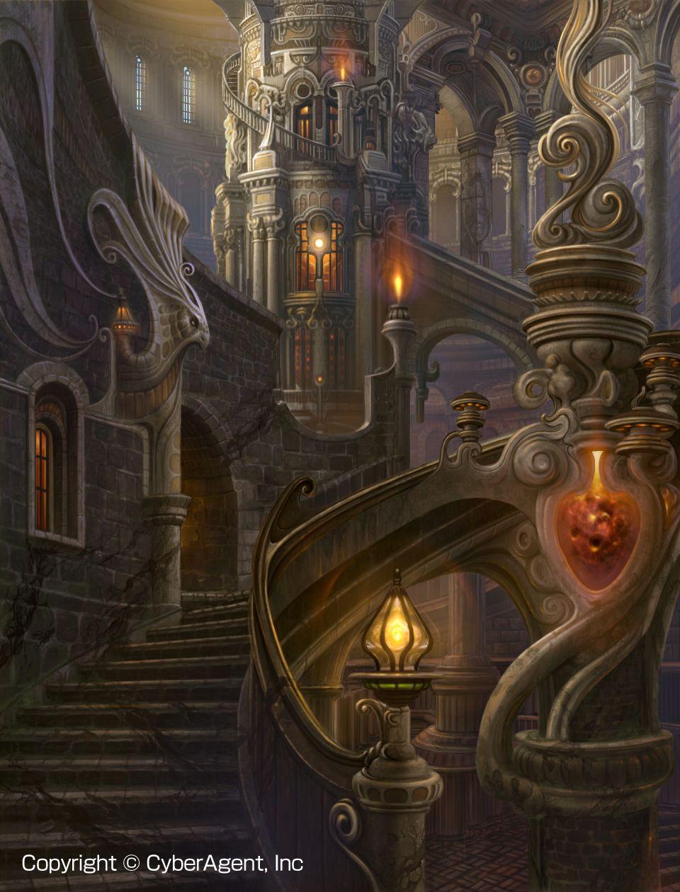 magic castle fantasy world - photo #19