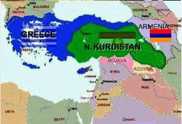 Without genocides the above map is what turkey would have been post without genocides the above map is what turkey would have been post ww1 gumiabroncs Images