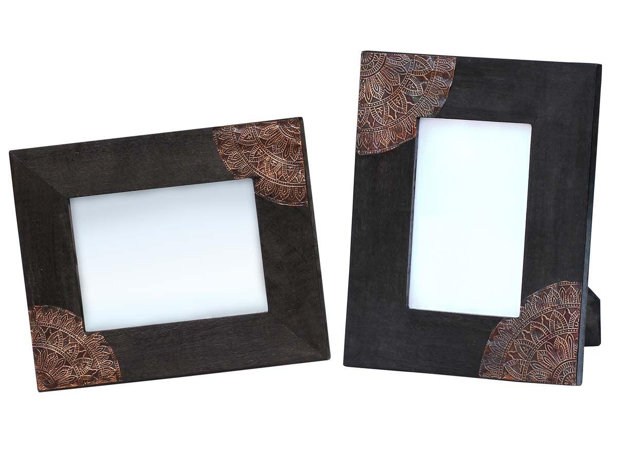 4x6 Inches Black Picture Frame in Bulk– Wholesale Handmade Mango ...