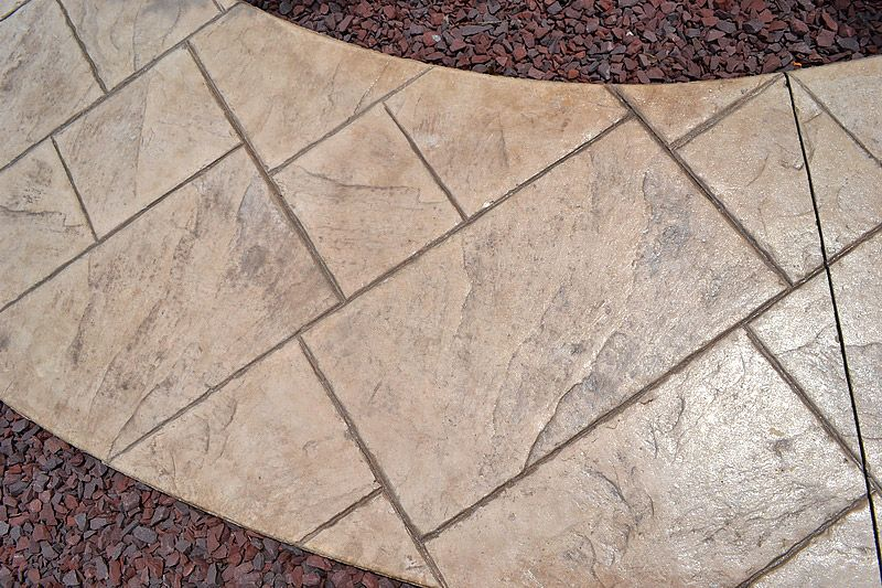 Sandstone Color Concrete Release Google Search Concrete Color Concrete Backyard Stamped Concrete Patio