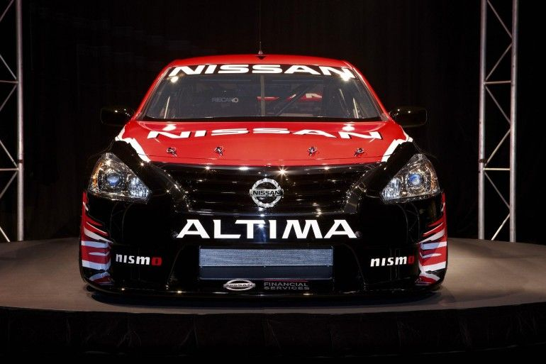 No One Saw This Coming A Nissan Altima V8 Racing Car Altima Nissan Altima Super Cars