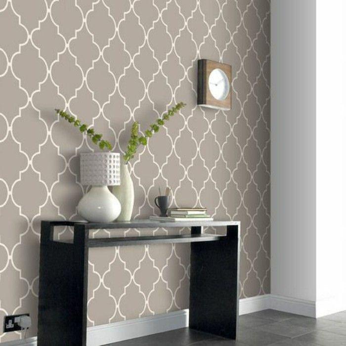 Idee Deco Entree Couloir #6   Les Papiers Peints Design En 80 Photos  Magnifiques