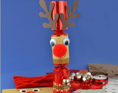 8 jingle wobble standy uppy rudolph make your own christmas 8 jingle wobble standy uppy rudolph make your own christmas crackers kit the littlecraftybugs solutioingenieria Choice Image