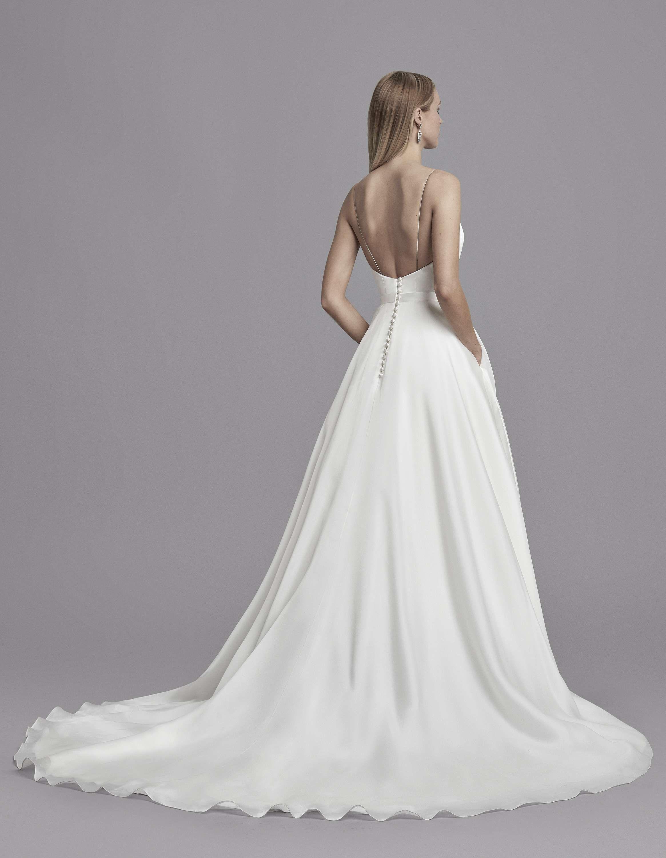 Carla : Robe de mariée civil courte fourreau à bustier