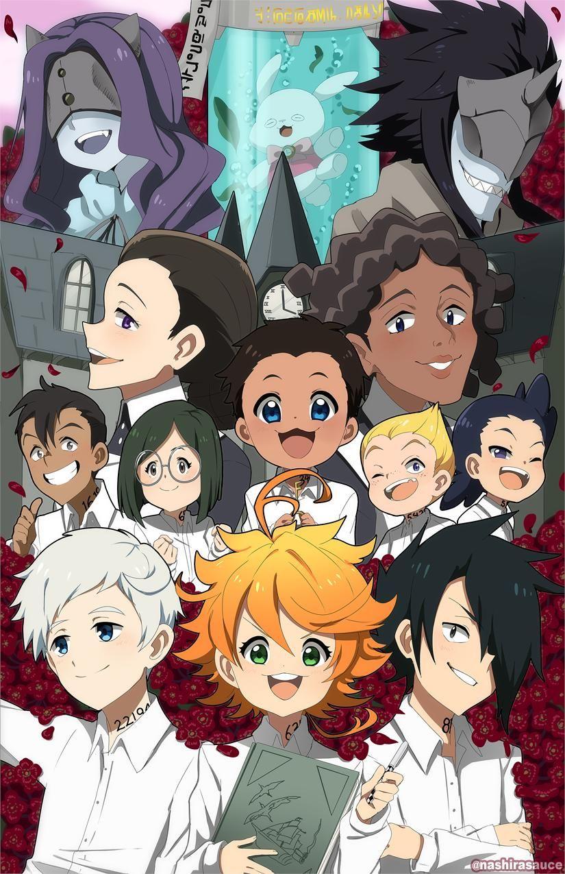 Nashira on Anime, Neverland, Anime art