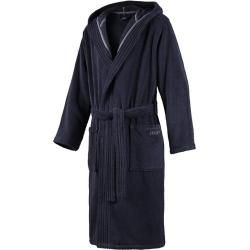 Photo of Joop bathrobes men's bathrobe with hood blue size 50/52 1 pc. Joop