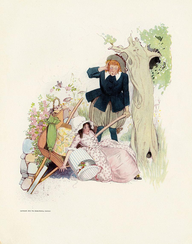 детский иллюстратор Fanny Young Cory