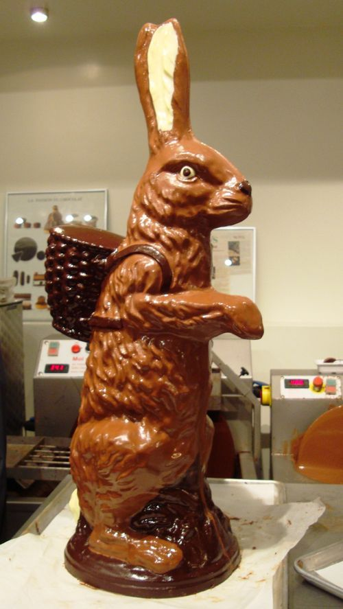 Giant Chocolate Bunny!   Chocolate is the best part of the ...