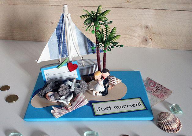 money gift island geldgeschenke pinterest geldgeschenke zur hochzeit geldgeschenke und. Black Bedroom Furniture Sets. Home Design Ideas