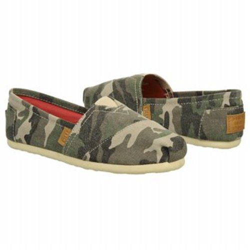 752eba97f7b Madden Girl Womens Olive Canvas Camo Toms Shoe 8.5 B(M) US Size ...