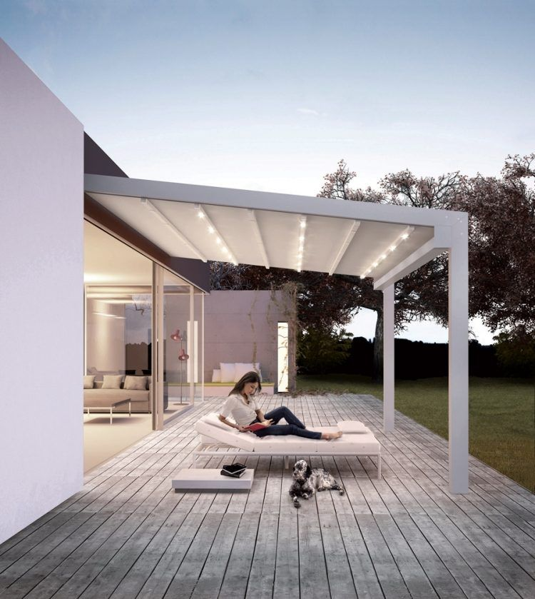 sch ne konstruktion von gennius mit integrierter led beleuchtung carport pinterest. Black Bedroom Furniture Sets. Home Design Ideas