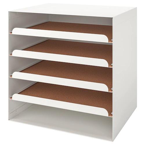 Rangement Pour Documents Et Accessoires Media Ikea En 2020 Corbeille A Courrier Ikea Rangement