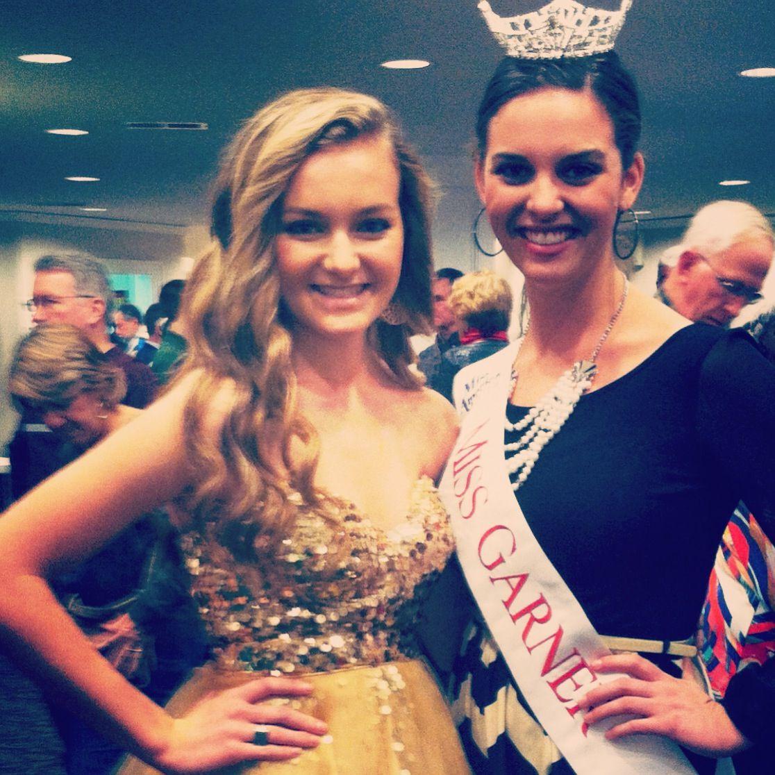 Savannah with Miss Garner after performing at GPAC in Garner NC