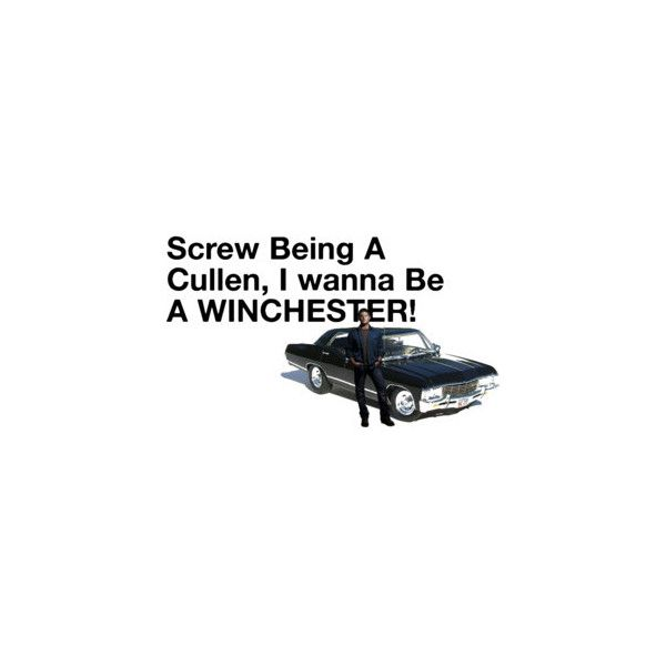 Supernatural quote by:Ariel renee,Image by MiaWinchester found on Polyvore